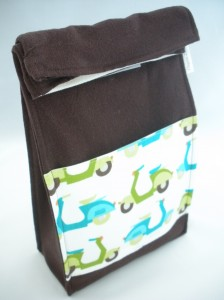 Organic Lunch Bag Brown Bagger - Scooters