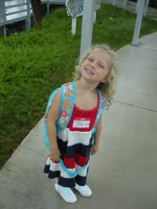 Jillian at School