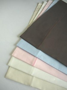 Organic Pillowcases - 5 colors