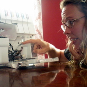 Threading the Serger