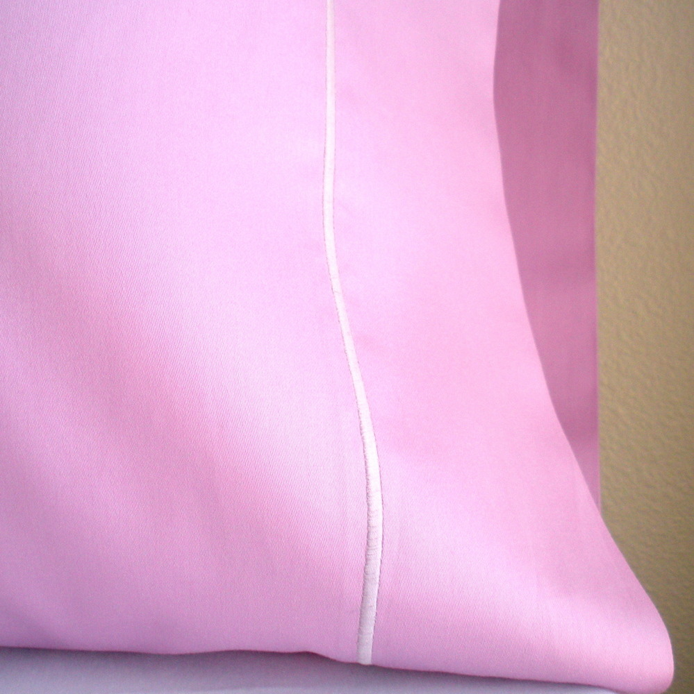 Organic Pillowcase - Orchid Pink