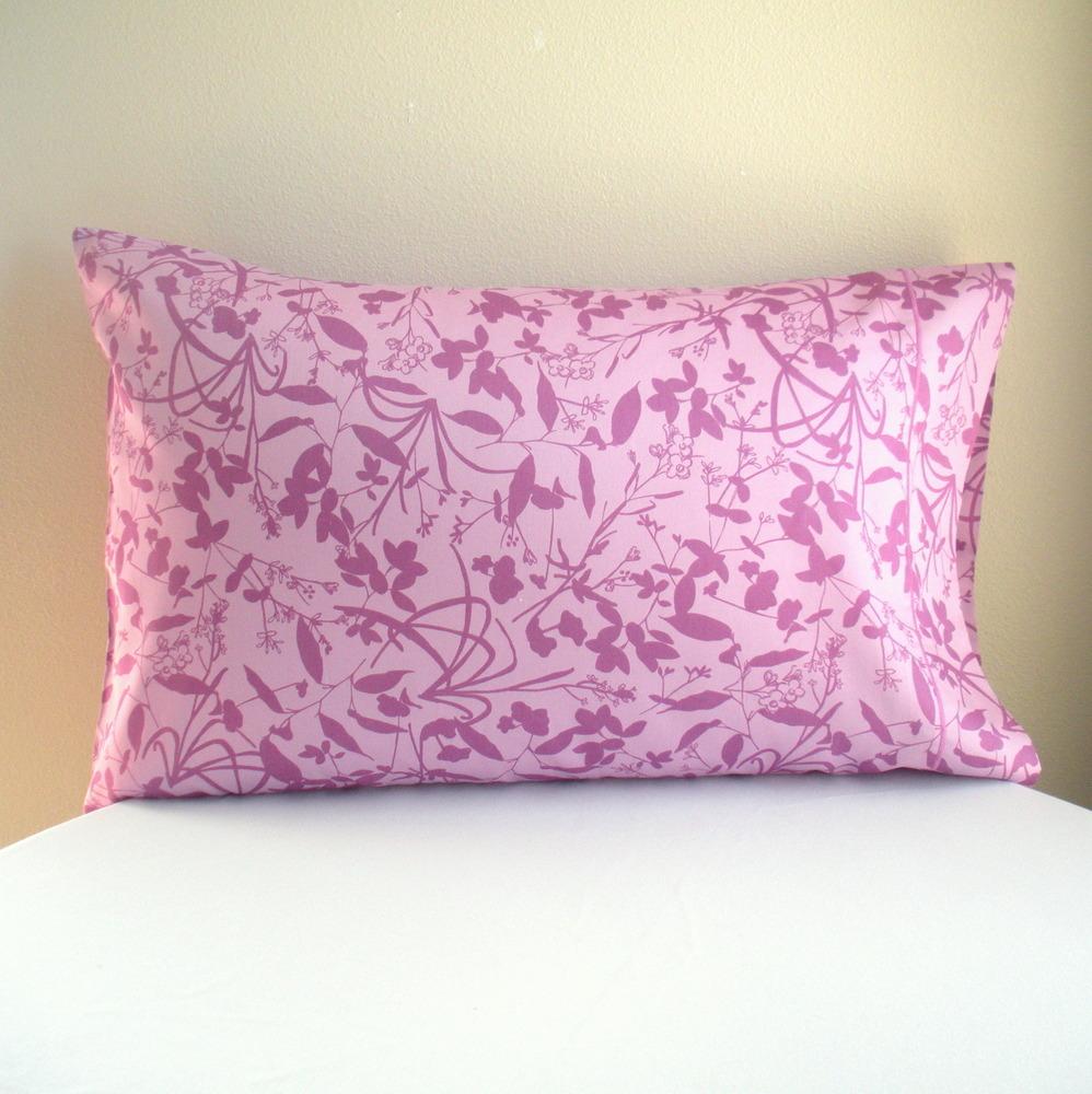 Organic Pillowcase-Whispering Grass Orchid