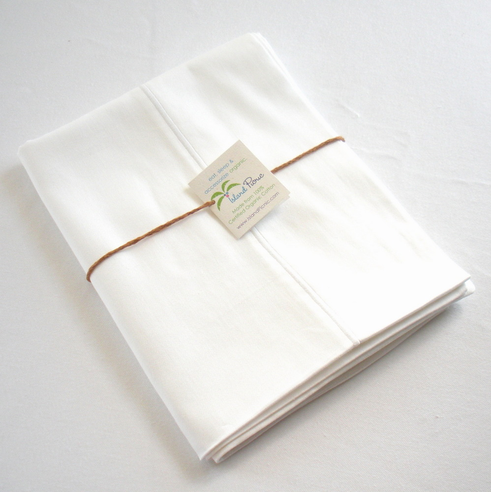 Organic Pillowcase - White