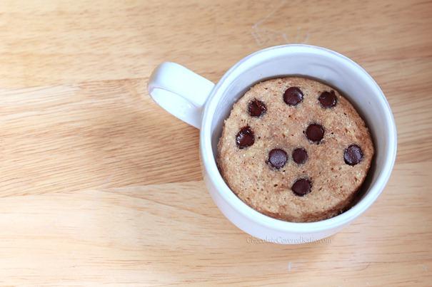 Cookie Dough Mug Cake