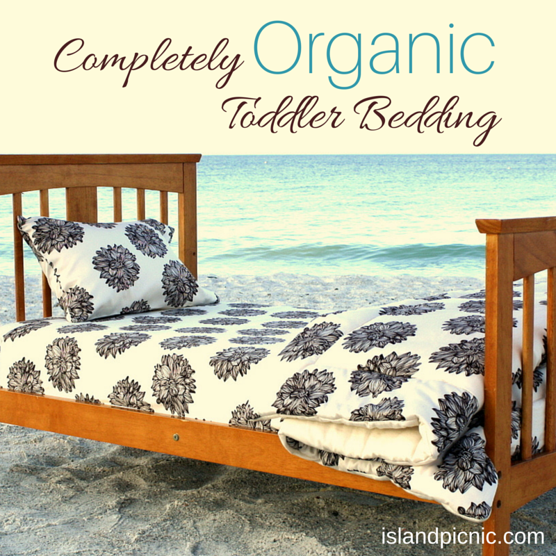 Completely Organic Toddler Bedding Sets