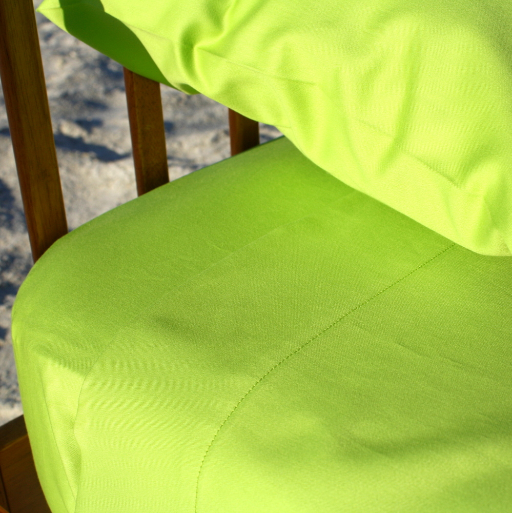 Organic Cotton Crib Sheets - Lime Green