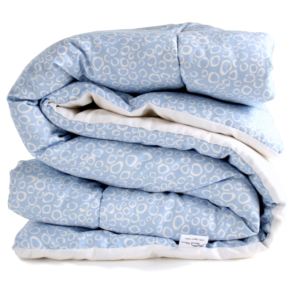 Organic Cotton Comforter - Blue Morning Dew