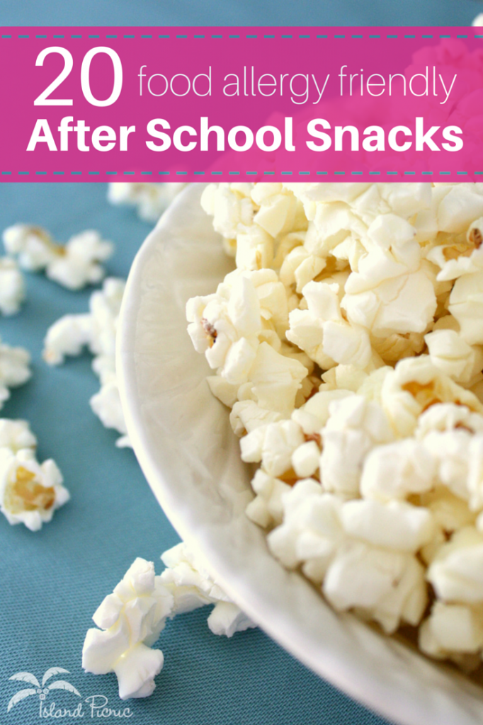 Natural Allergy Free Snacks List