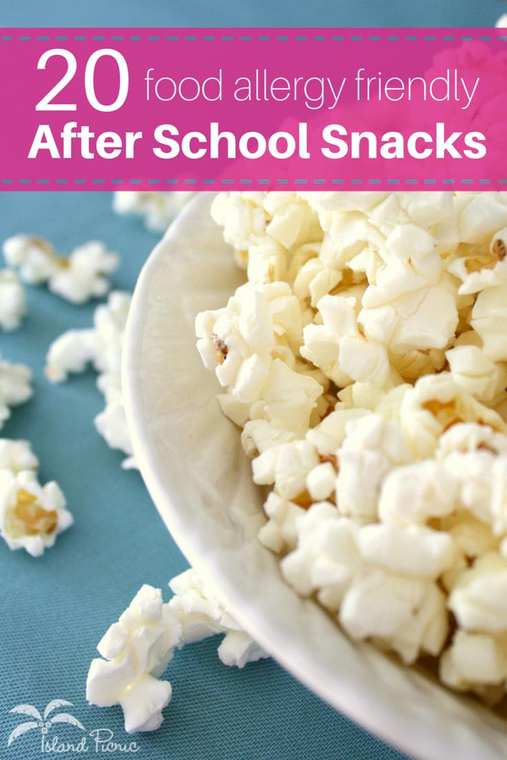20 Allergy-Friendly After School Snacks — Milk-, Egg- & Nut-Free