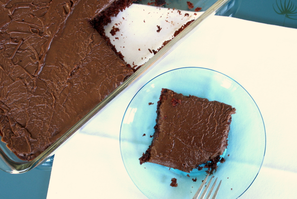 Vegan Chocolate Sheet Cake