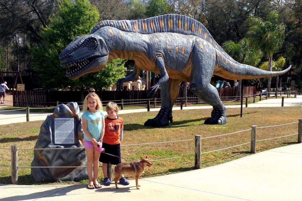 Dinosaur World -- A Florida (mini) Road Trip