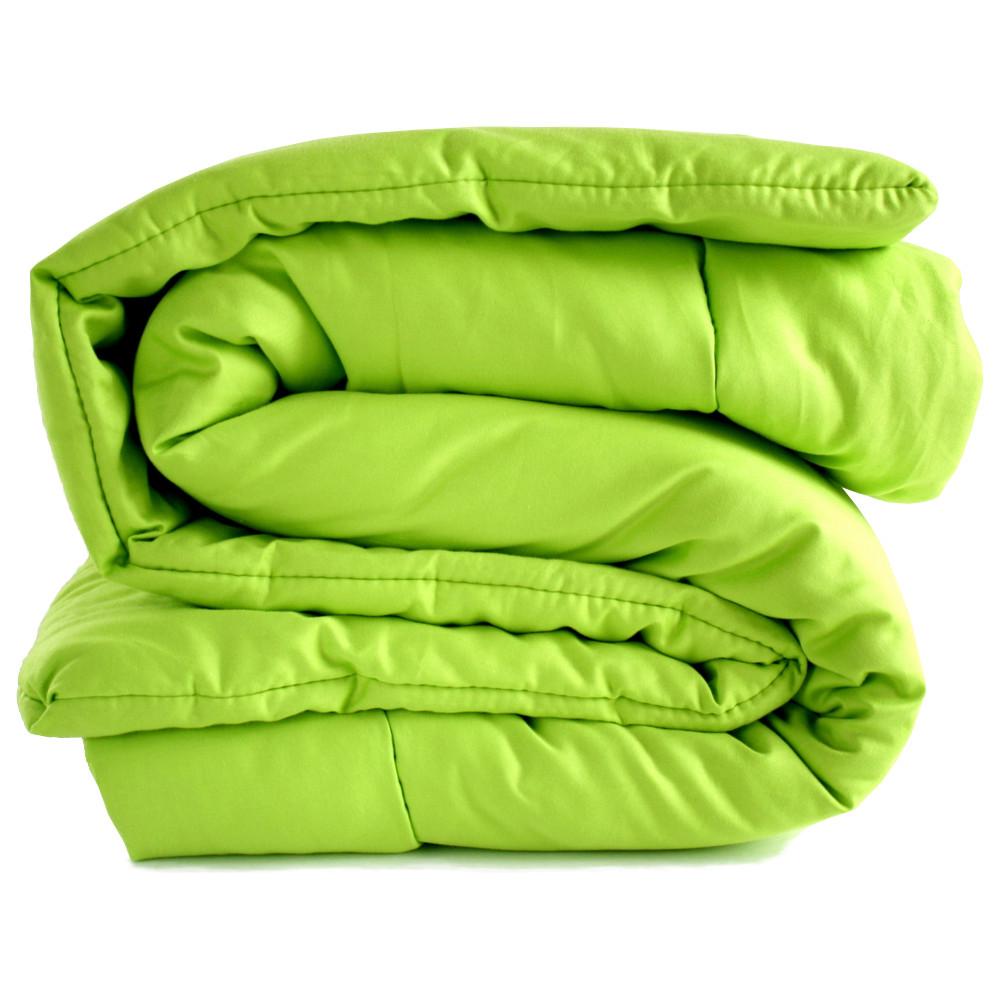 Organic Comforter - Lime Green