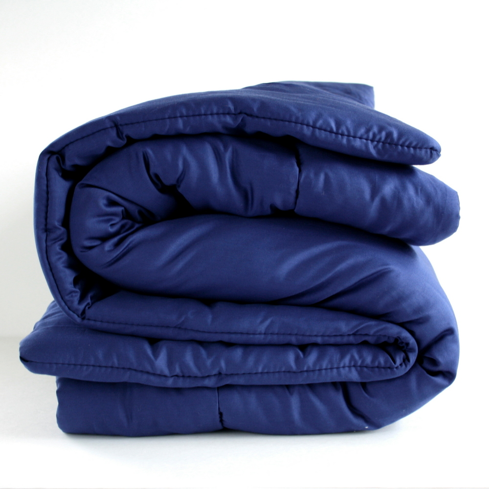 Organic Comforter - Navy Blue