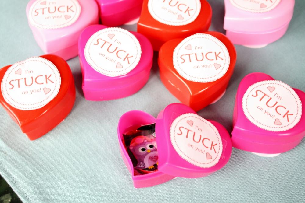 Sticker Valentines - Allergy Friendly Non Food Idea